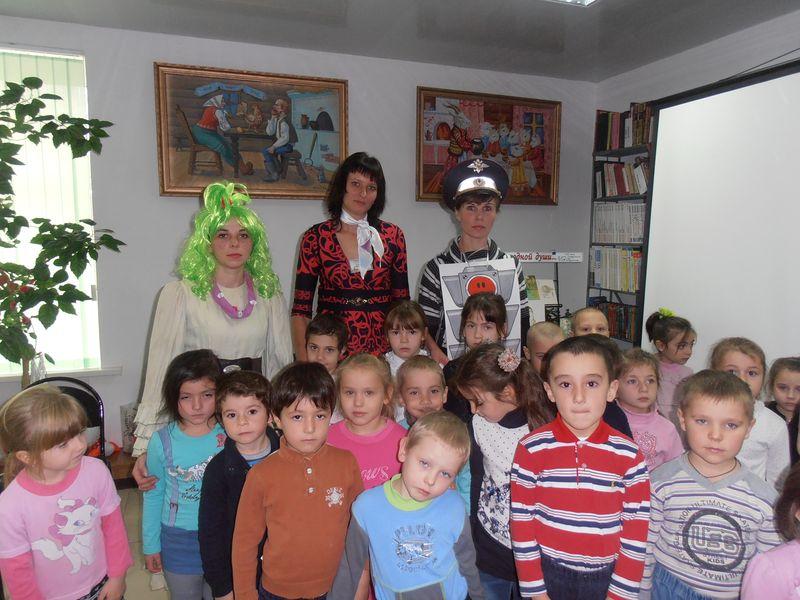 Маленькие жители станицы Зеленчукской узнали азы «Дорожной грамоты»